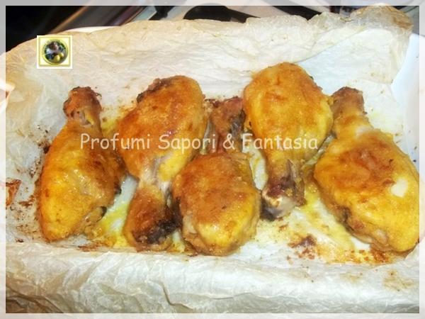 Cosce di pollo come fritte ma al forno Blog Profumi Sapori & Fantasia