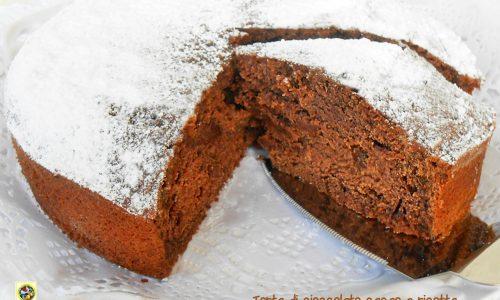 Torta di cioccolato cacao e ricotta ricetta
