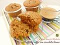 Muffin al caffè con cioccolato bianco