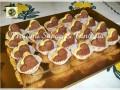 Biscotti panna e cacao, con crema pasticcera