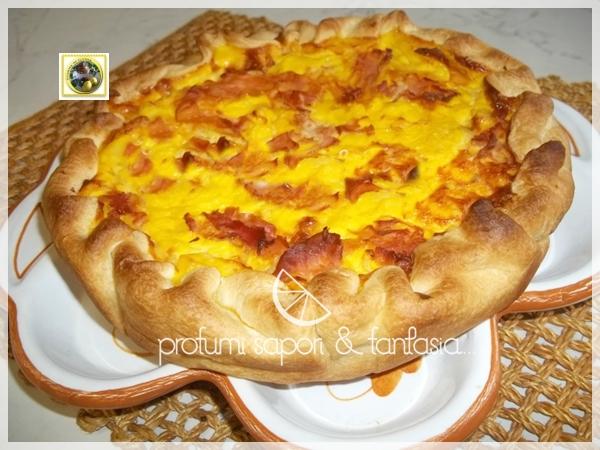 Quiche salata ricetta sfiziosa   Blog Profumi Sapori & Fantasia