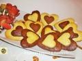 Biscotti per San Valentino a forma di cuore