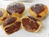 Muffin panna e cioccolato