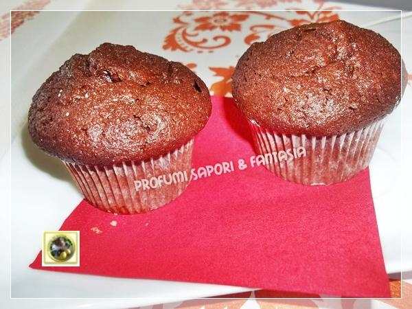 Muffin al cioccolato  Blog Profumi Sapori & Fantasia