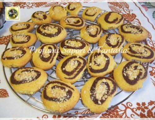 Biscotti panna e cacao, con nocciole