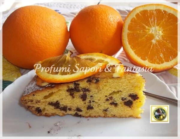 Torta alla marmellata di arance e cioccolato  Blog Profumi Sapori & Fantasia