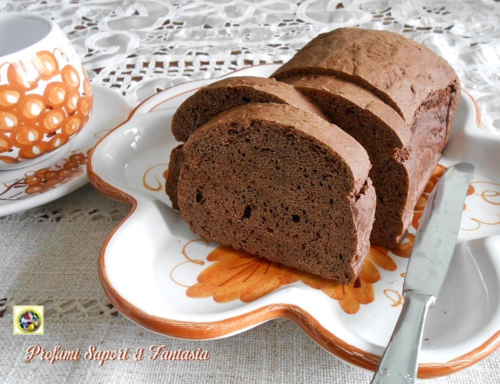 Pane dolce al cioccolato