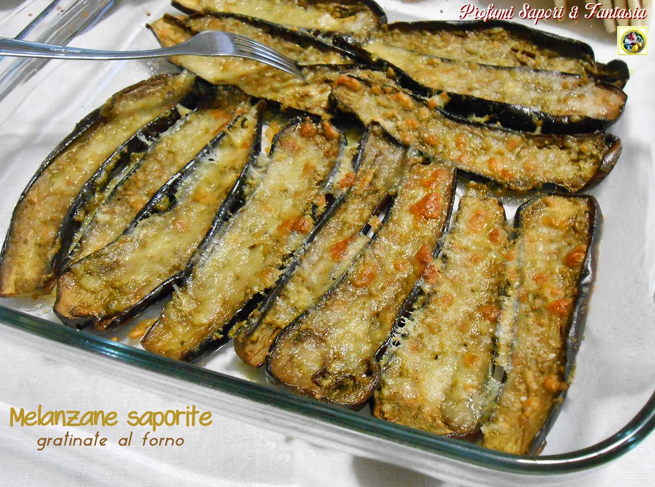 Melanzane saporite gratinate al forno Blog Profumi Sapori & Fantasia