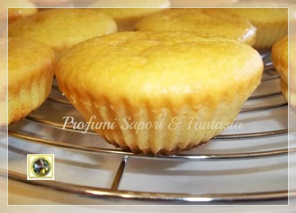 Tortine di ricotta al limone con glassa Blog Profumi Sapori & Fantasia