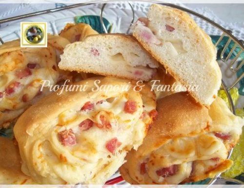 Pane farcito, con prosciutto pancetta e provolone