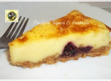 Cheesecake alla panna ricotta e frutti di bosco