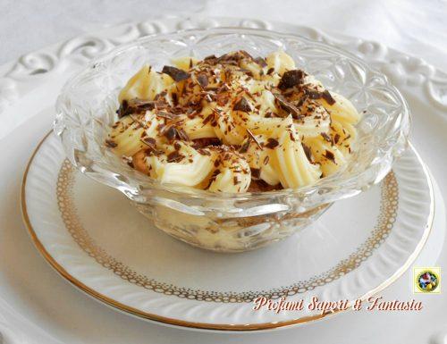 Crema dessert tiramisu