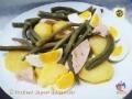 Insalata di patate fagiolini tonno e uova