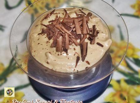 Crema di ricotta e cioccolato con caffe'