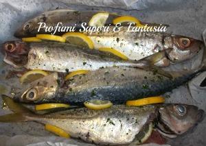 Sgombri al forno con limone ed erbe aromatiche Blog Profumi Sapori & Fantasia