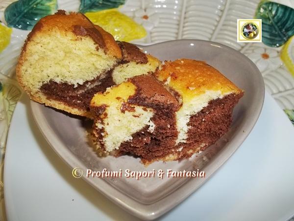 Ciambella bicolore, con Nutella Blog Profumi Sapori & Fantasia
