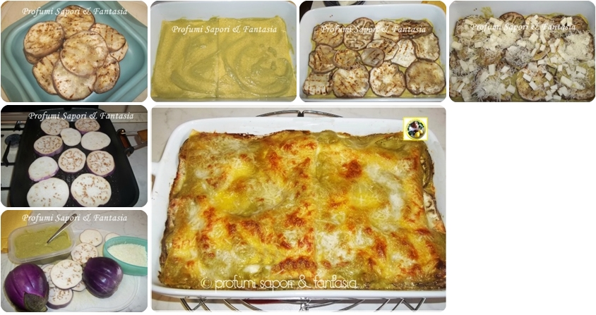 Lasagne bianche alla parmigiana, senza besciamella Blog Profumi Sapori & Fantasia