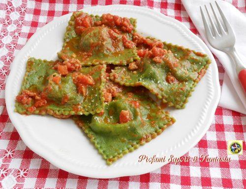 Ravioli verdi ricotta e spinaci ricetta di base