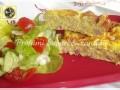 Frittata al forno con ricotta e prosciutto cotto