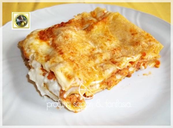 Lasagne ai quattro formaggi Blog Profumi Sapori & Fantasia