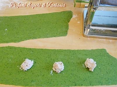 Ravioli verdi ricotta e spinaci ricetta Blog Profumi Sapori & Fantasia