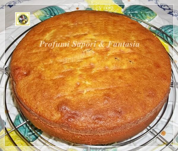 Torta Margherita ricetta con gocce di cioccolato Blog Profumi Sapori & Fantasia