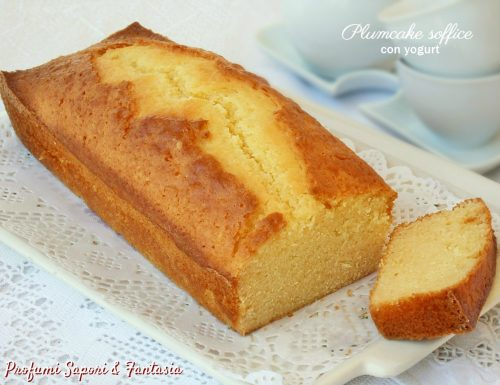 Plumcake soffice con yogurt