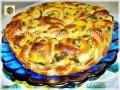 Torta di rose ricetta con crema uvetta e gocce di cioccolato