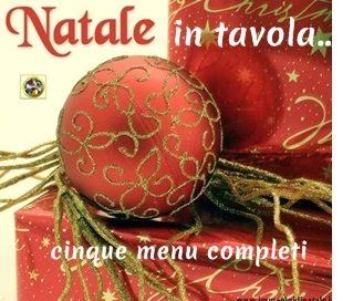 Natale in Tavola menu completi
