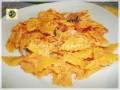 Nastrini di pasta fresca pasticciati