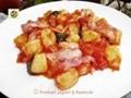 Gnocchi di patate con pancetta croccante