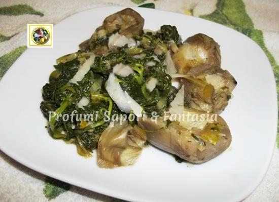 Contorno veloce di verdure cotte ricetta Blog Profumi Sapori \u0026 Fantasia