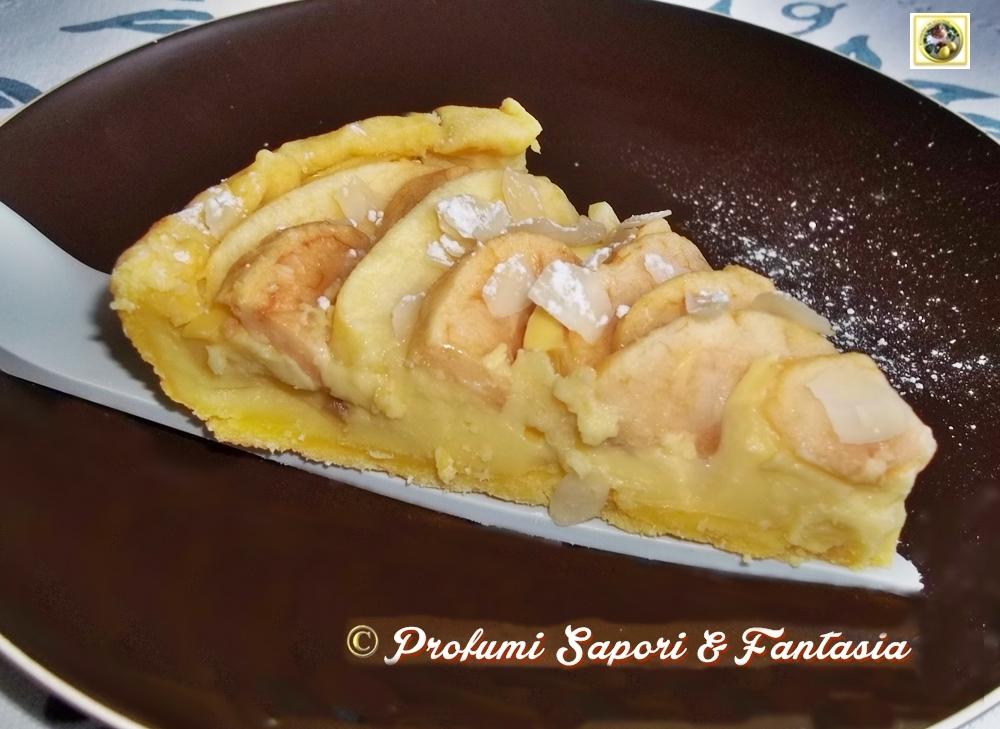 Crostata alle mele con crema pasticcera Blog Profumi Sapori & Fantasia