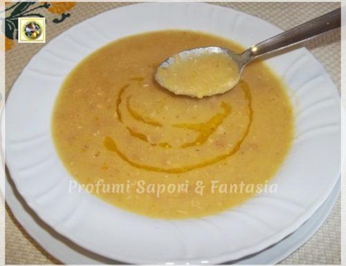 Crema di patate e fagioli