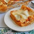 Lasagne al forno saporite