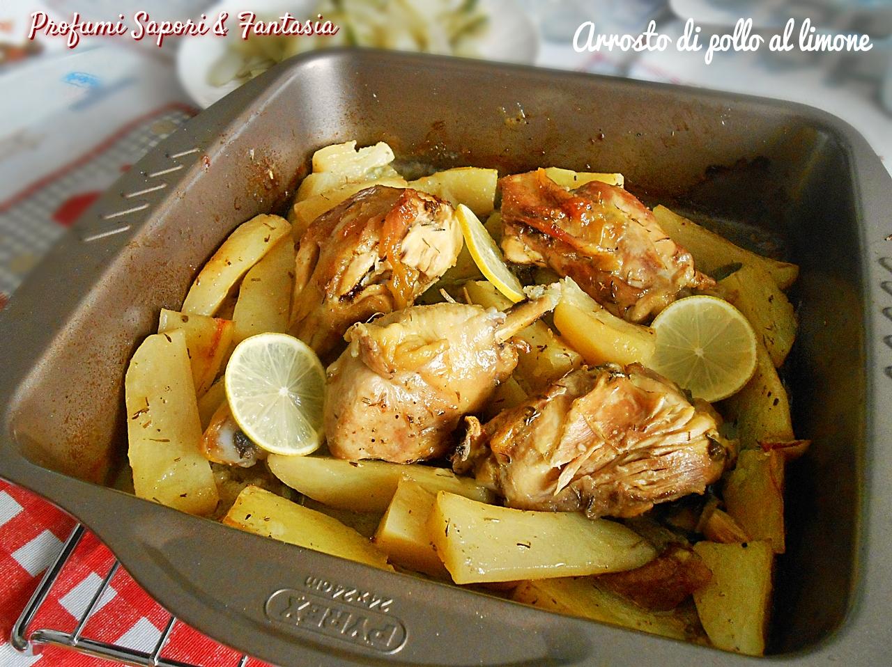 Arrosto di pollo al limone