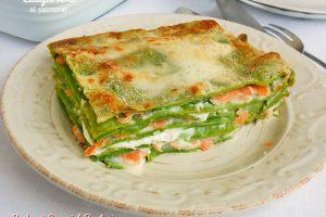 Lasagne verdi al salmone