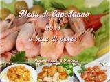 Menu di Capodanno 2013 a base di pesce