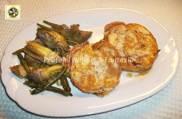Arrotolato di pollo al forno ricetta gustosa Blog Profumi Sapori & Fantasia