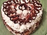 Torta farcita al mascarpone e cioccolato senza cottura