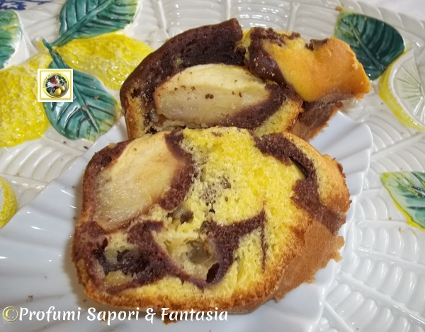 Torta di mele alla panna e cioccolato  Blog Profumi Sapori & Fantasia