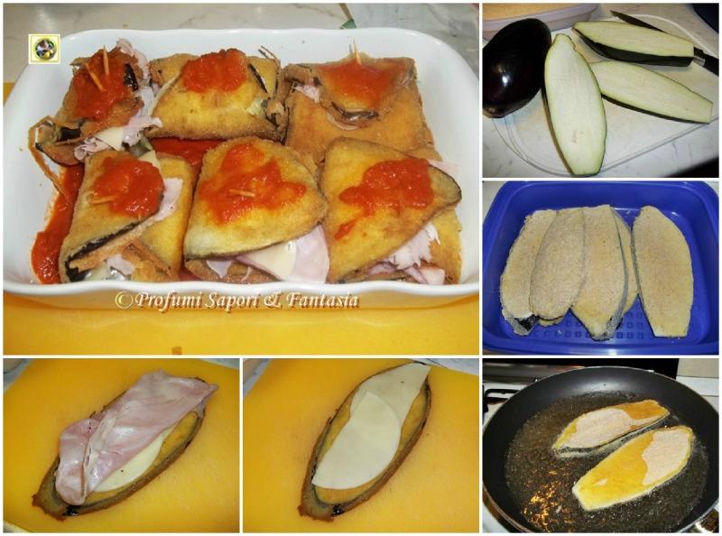 Involtini di melanzane farcite ricetta facile Blog Profumi Sapori & Fantasia