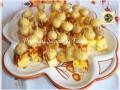 Antipasto di frittata con funghetti