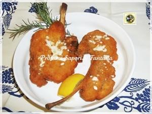 Costolette di agnello al parmigiano e scamorza Menu di Pasqua tante ricette facili  Blog Profumi Sapori & Fantasia