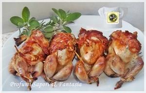 Quaglie arrosto ripiene Menu di Pasqua tante ricette facili  Blog Profumi Sapori & Fantasia