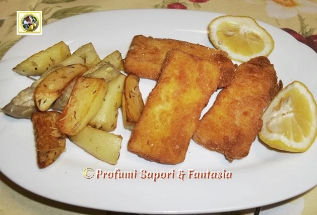Pesce persico impanato al forno ricetta  Blog Profumi Sapori & Fantasia
