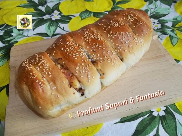 Pan brioche salato farcito ricetta Blog Profumi Sapori & Fantasia