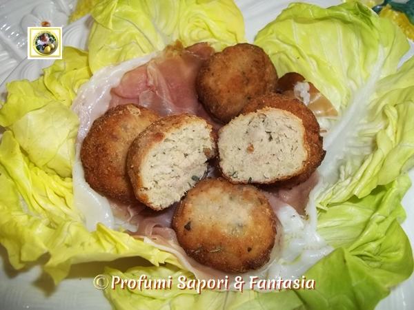 Polpettine di ricotta e patate ricetta  Blog Profumi Sapori & Fantasia