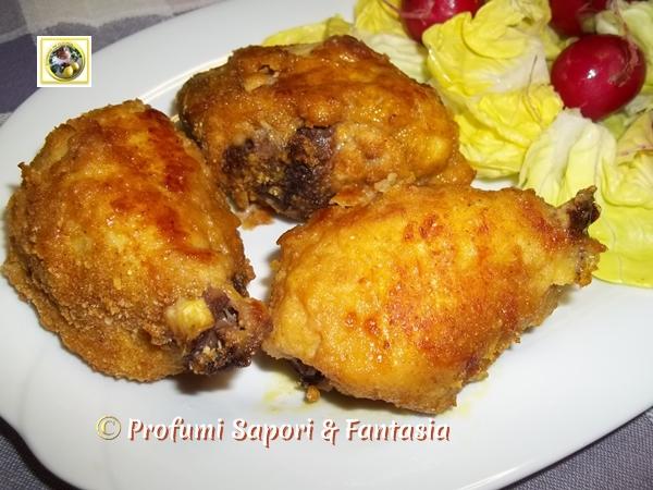 Pollo impanato al curry e paprika al forno Blog Profumi Sapori & Fantasia