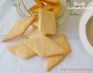 Biscotti di pasta frolla alla ricotta